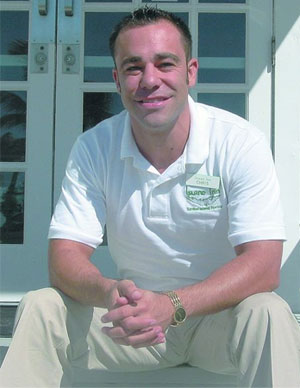Chris Davison, Vice President of Operations at the Island Inn