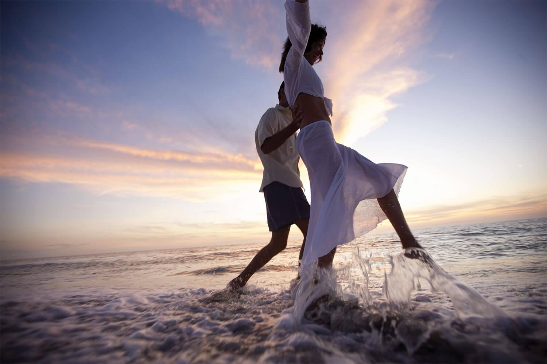 Sanibel Couple on Beach